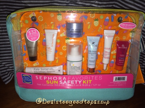 Sephora Sun Safety Kit 2016 2