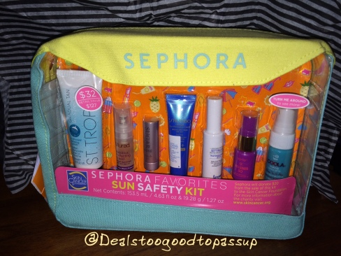 Sephora Sun Safety Kit 2016