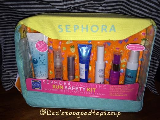 Sephora Sun Safety Kit 2016