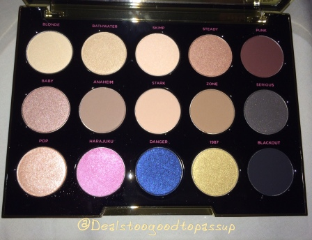 Urban Decay Gwen Stafani Eyeshadow Palette 2