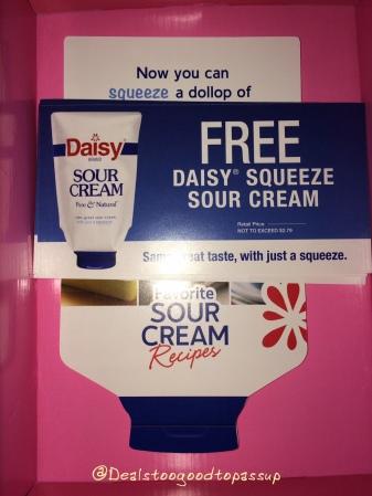 Bzz Agent Daisy Sour Cream