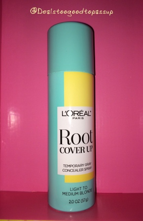 Bzz Agent L'Oreal Root Cover Up