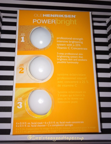 Ole Henriksen POWER Bright™ Free Trial from Sephora | Deals Too ...