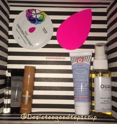 Sephora Play July 2016 3