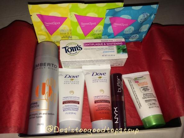 Target Beauty Box Fresh & Fabulous
