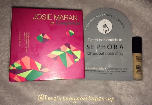 Sephora Order Josie Maran