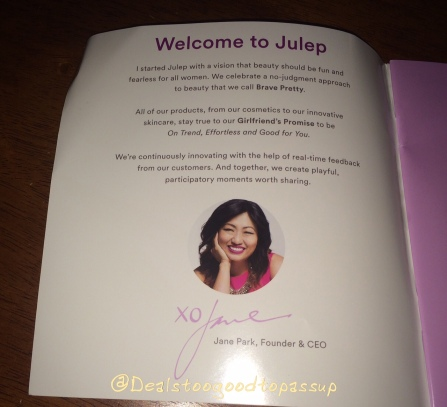 Julep Catalog