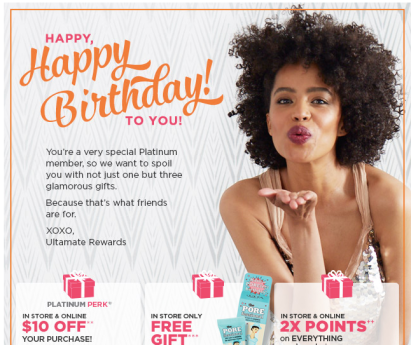 If you have not joined the UltaMate Rewards Program yet, join before your birthday to receive your free gift. Joining with a referral link will also give ...