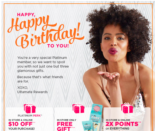 If you have not joined the UltaMate Rewards Program yet join before your birthday to receive your free gift. Joining with a referral link will also give ...  sc 1 st  Deals Too Good to Pass Up & The Ulta 2017 Birthday Gift Changes Each Quarter | Deals Too Good to ...