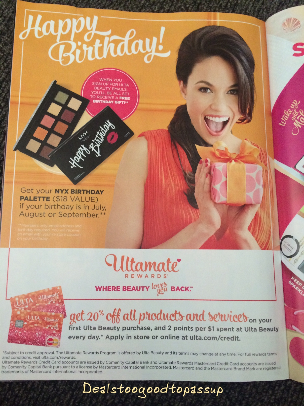 The Ulta 2017 Birthday Gift Changes Each Quarter | Deals Too Good ...