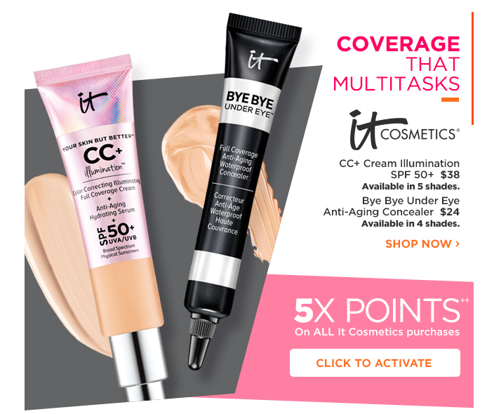 Ulta 5x Points Offers on Specific Brands, Products, or Services for 2017