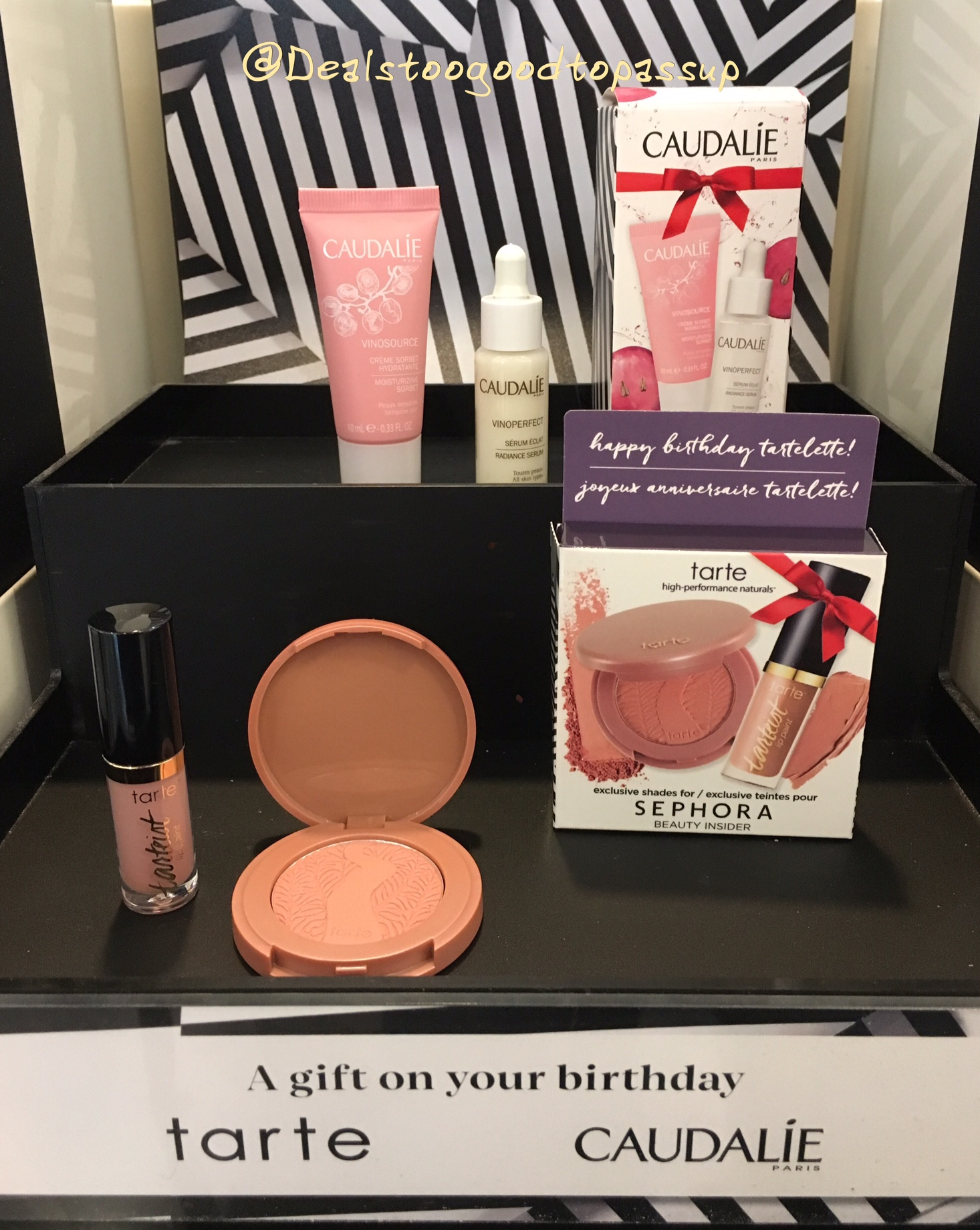 Three Options for the Sephora 2017 Birthday Gift From Caudalie, Tarte, and Jack Black