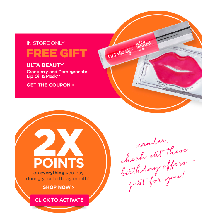 Ulta 2018 Birthday Gifts By Quarter Deals Too Good To Pass Up