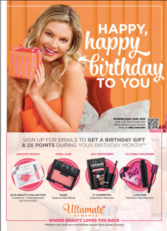 What are your thoughts on the Ulta birthday gifts? Let me know below. Targeted Offers are exclusive to UltaMate Rewards Members, so I do recommend joining.