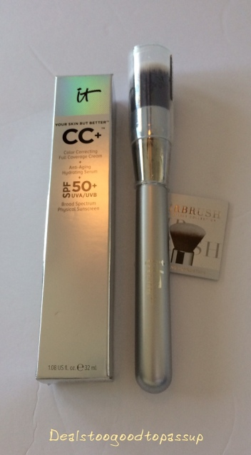It Cosmetics Cc Cream PLus Free It Brushes For Ulta 101 Airbrush Foundation with Purchase
