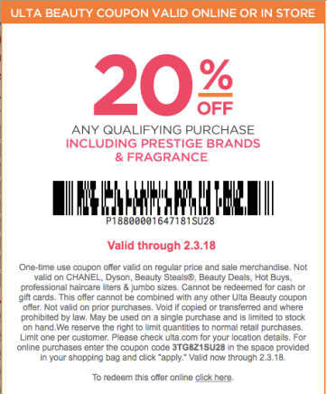 Prestige coupon code