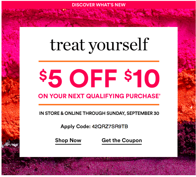 image about Ulta 5 Off 10 Printable Coupons identified as Ulta Centered Greenback Off Coupon codes 2018 are Customarily $5, $10
