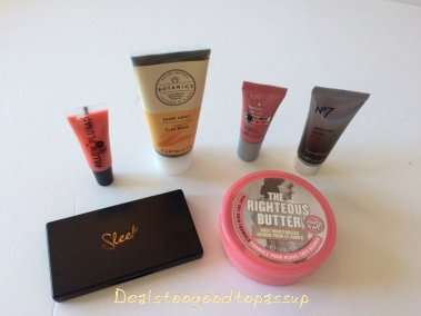 Target Beauty Boxes Review Best of Boots and January 2018