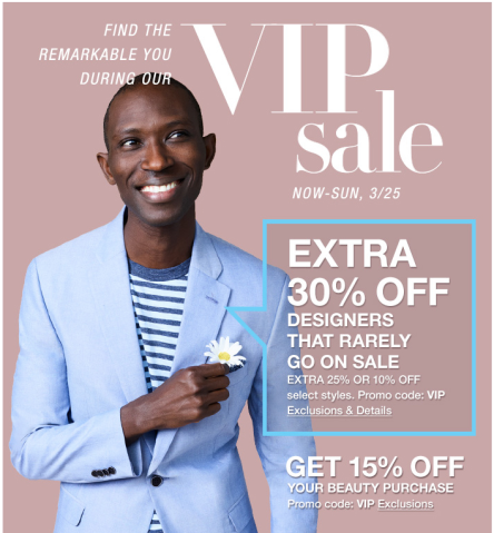 b80dfec6d7c Macy s VIP Sale Get 15% Off Beauty Purchases and Up to 30% Off in ...