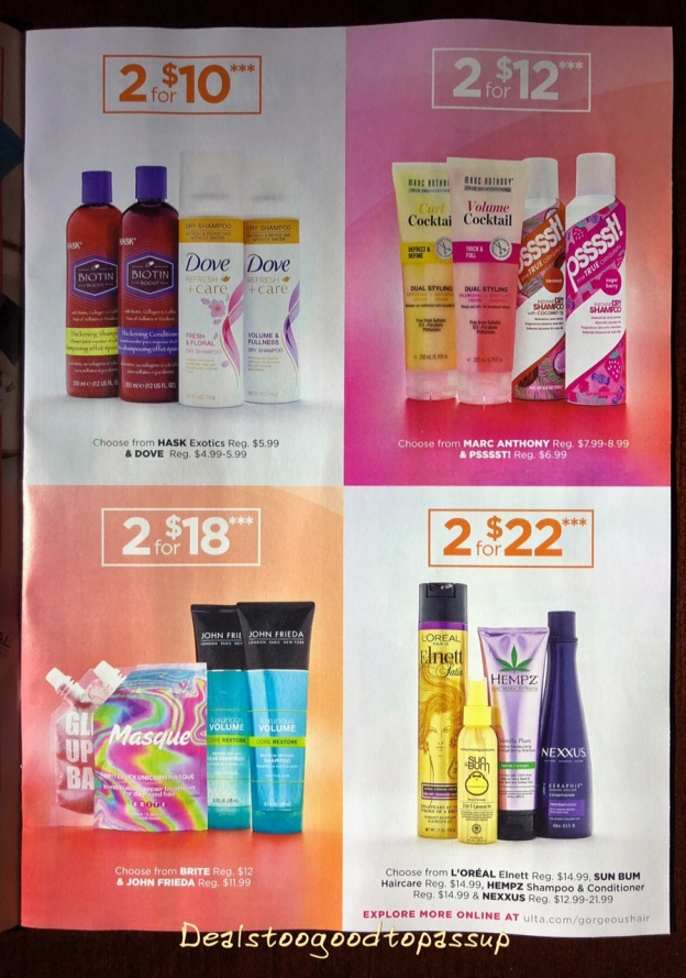 The Ulta Beauty Gorgeous Hair Event Spring 2018 Starts in ...