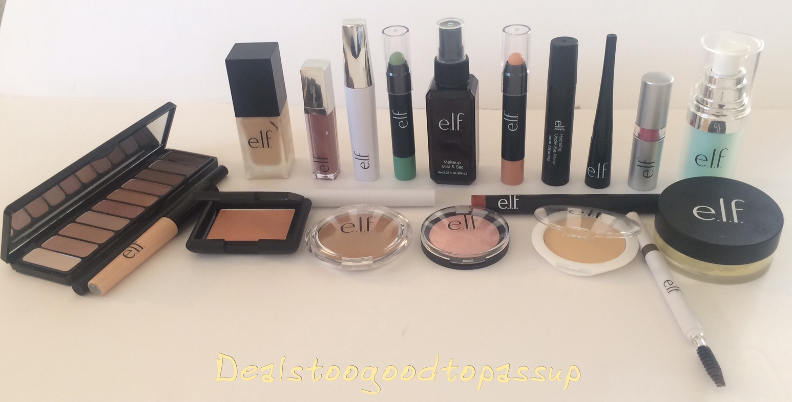 Full-Face Brand Challenge: e.l.f. Cosmetics Review | Deals ...