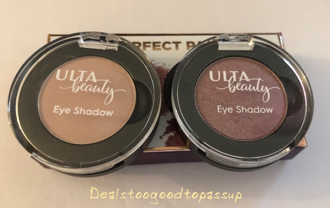 Ulta Birthday Gift Review Beauty Collection Perfect Pair Eyeshadow Set January 2019