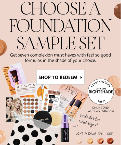 Sephora Sample Bag 2019 Promo Codes | Deals Too Good to Pass Up
