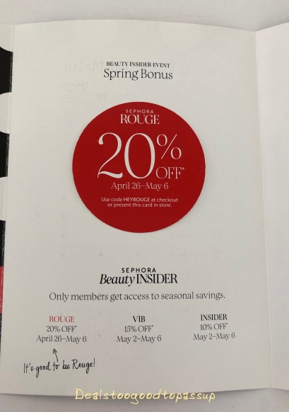 Coupons for sephora 2019
