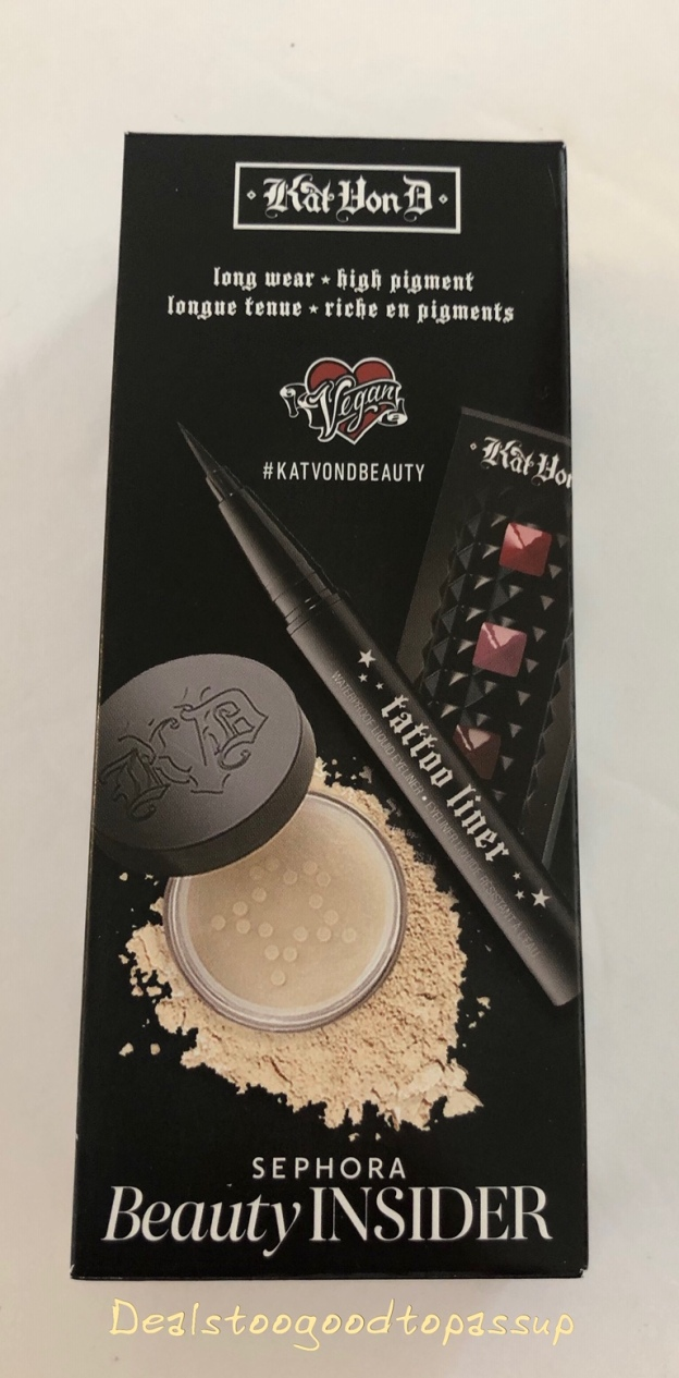 ae549a4cc22 Sephora 2019 Birthday Gift Review, Kat Von D – The Lowest Value and Most  Controversial Option