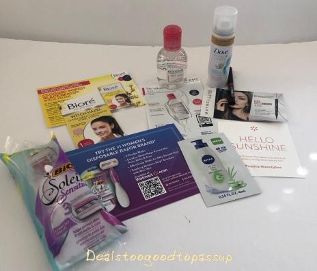 Walmart Beauty Box Summer 2019 Review – Trendsetter