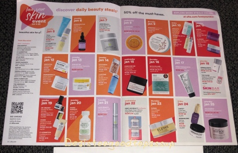 Ulta Love Your Skin Event 2020 Winter/January 2